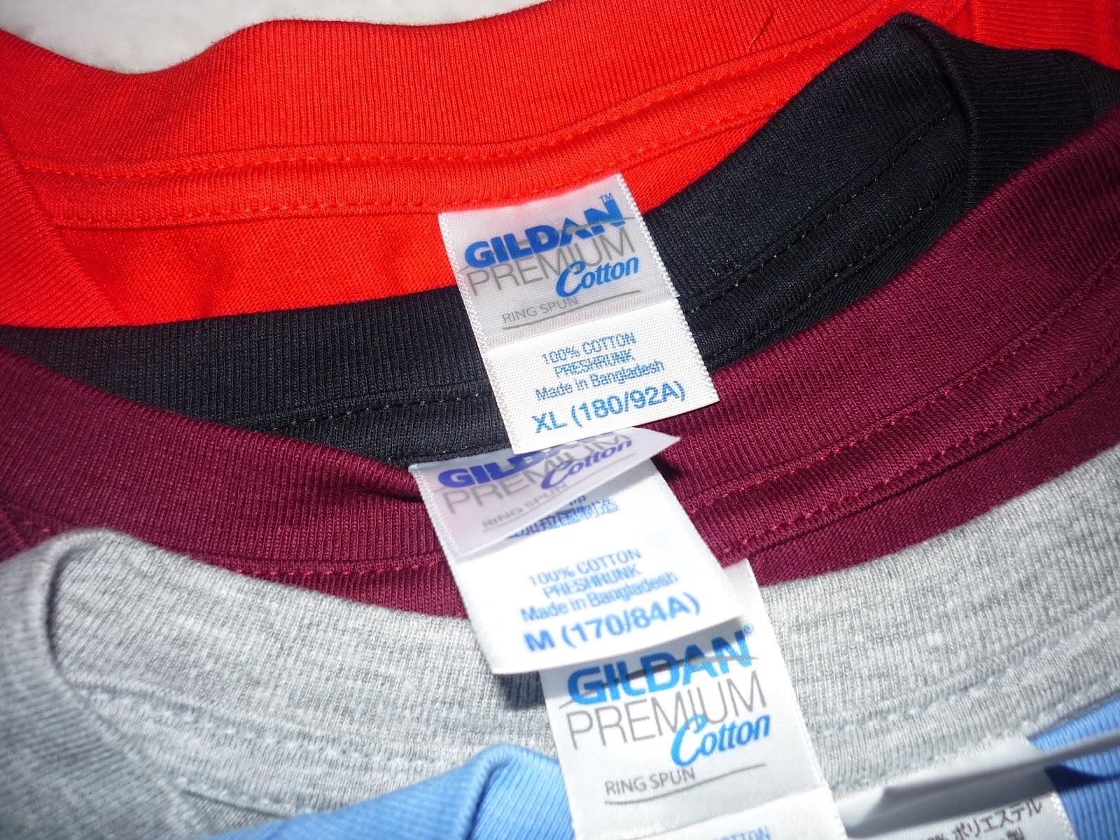 Gildan Premium Cotton Malaysia