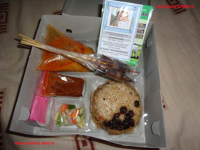 Nasi box aqiqah ala ciwidey
