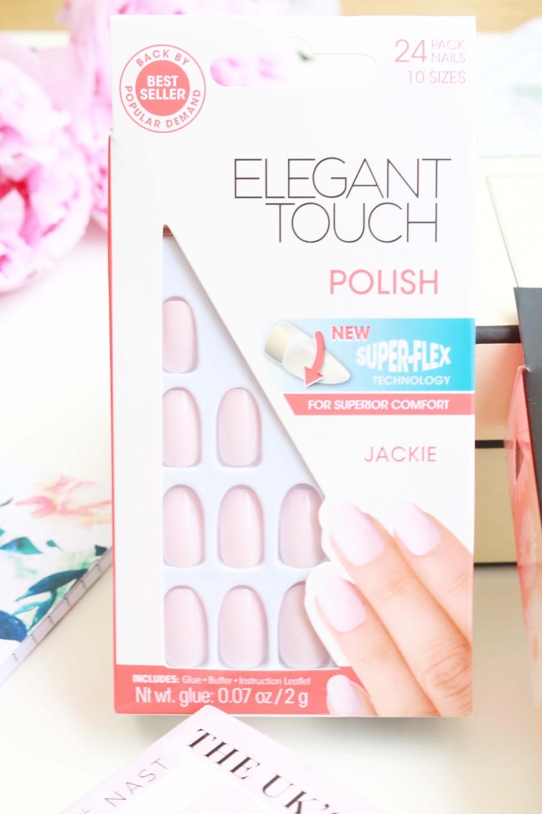 Beauty, Nails, Elegant Touch nails, Press On Nails, Drugstore, Elegant Touch Jackie, False nails, wedding beauty