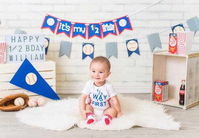I Know What Youre Thinking Because Used To Think The Same Thing A Photoshoot For Turning Six Months Old Get Real So Im Just Going Own This And