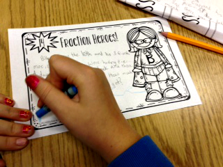 different ways to use task cards in the classroom multiplying and dividing fractions
