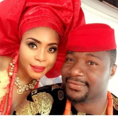 Mimi Orjiekwe and estranged husband