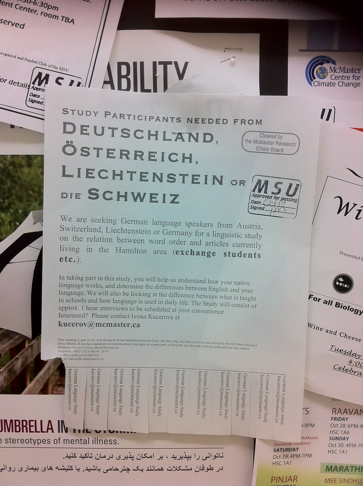 Recursivity: Funny Word Order in a Poster Advertising a ...