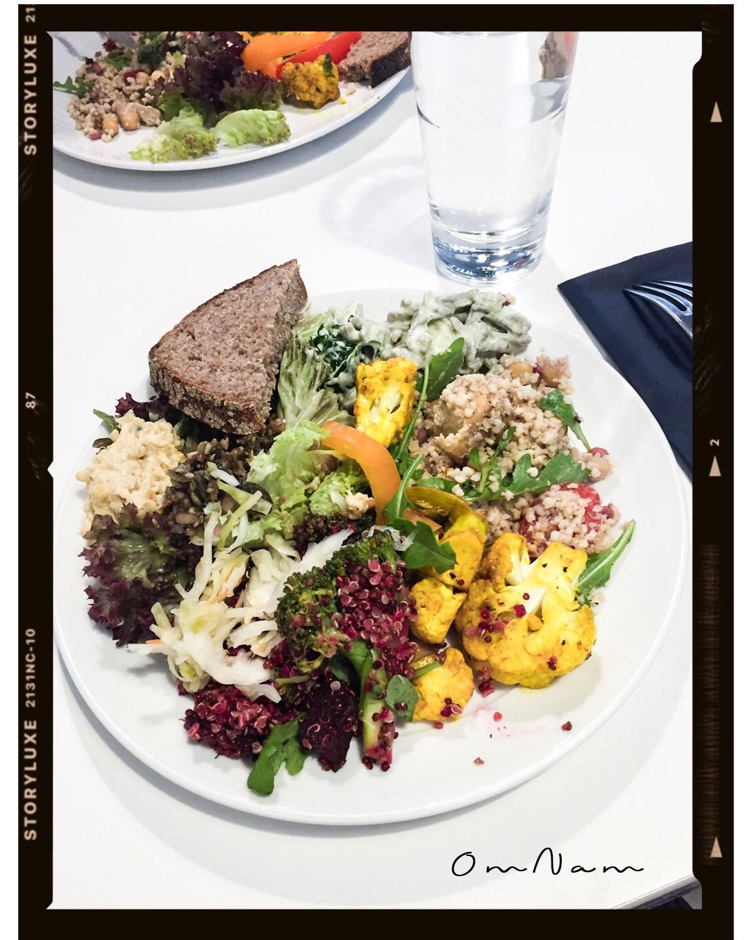 Vegan restaurants in Helsinki / Vegaaniravintola Helsinki: OmNam