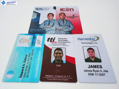Samples of PVC ID Cards Philippines