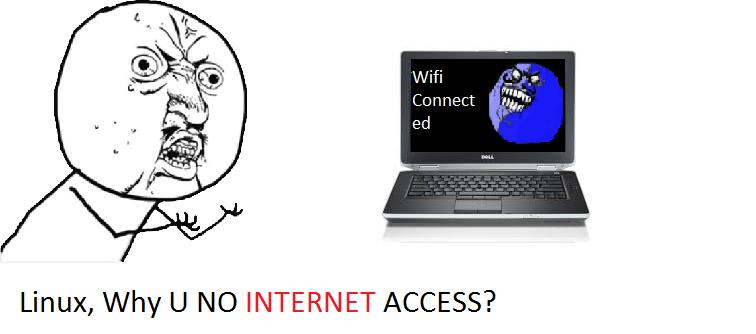 aryabisma: Dell Latitude Wifi cannot access internet on Linux