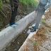 Prooyek Dinas Prasjal Propinsi Sumbar Ambruk