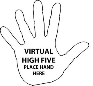 Virtual high five