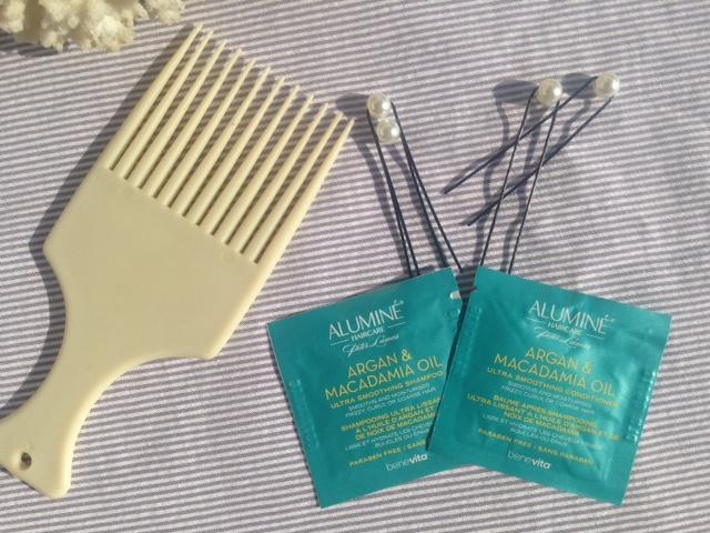 Shampoing et après-shampoing à l'argan et à l'huile de macadamia par Aluminé®