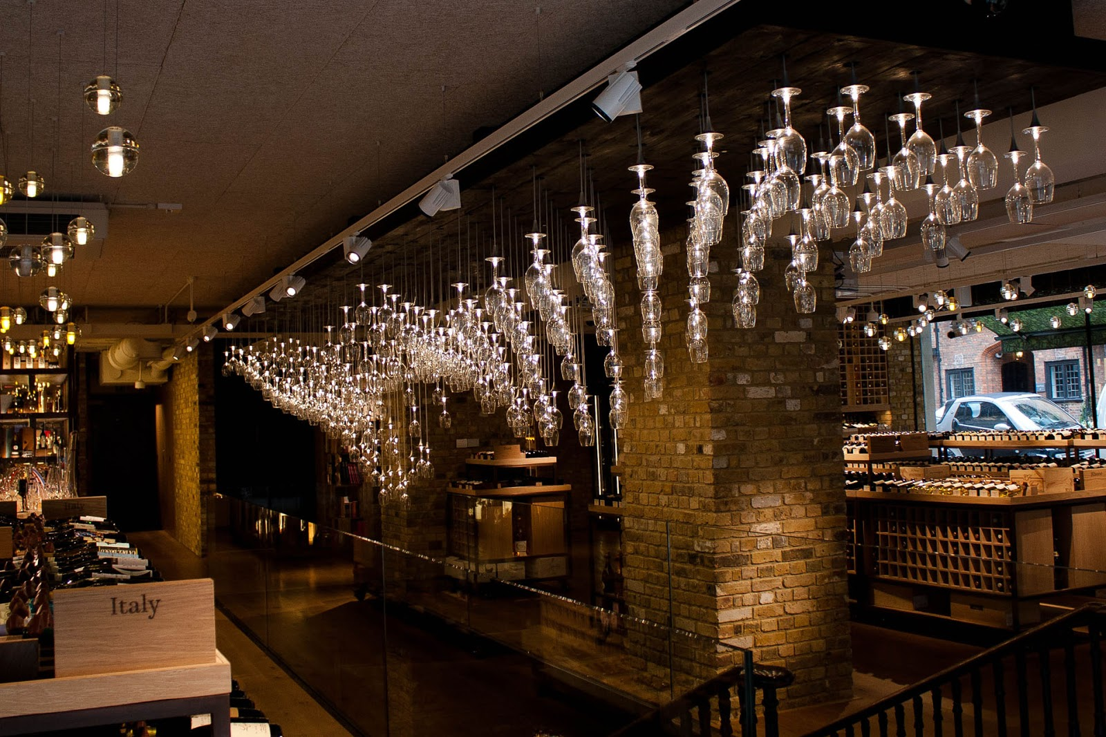 Wetbar Light Architecture Hedonism Wine Mayfair London