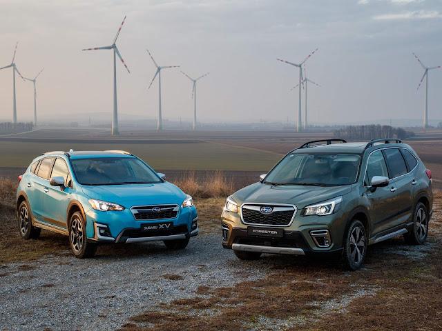 Subaru Forester e XV e-Boxer híbridos 2020