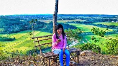 Bukit BLT di Desa Blitarejo Pringsewu Lampung