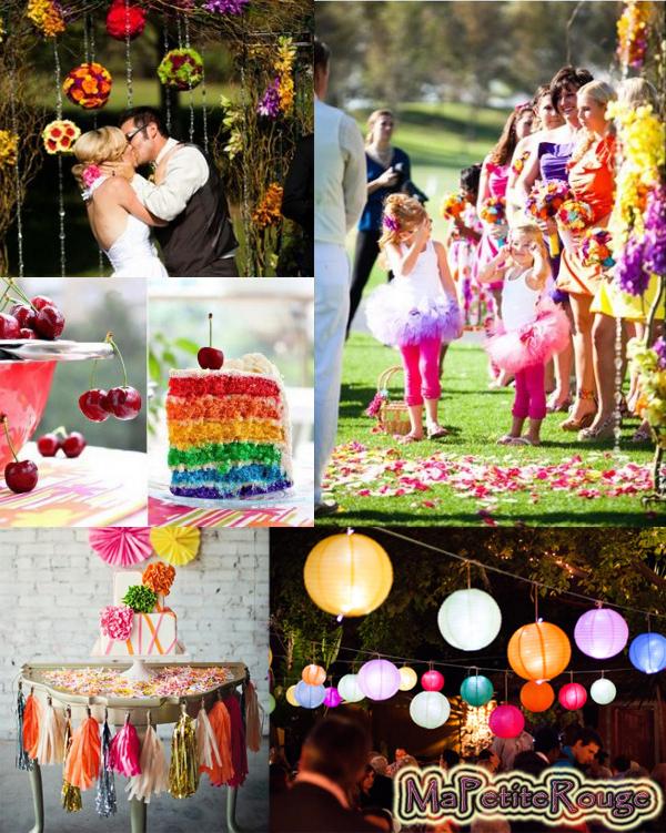 ma petite rouge les beaux mariages couleur du mariage un mariage champ tre 2014 au. Black Bedroom Furniture Sets. Home Design Ideas