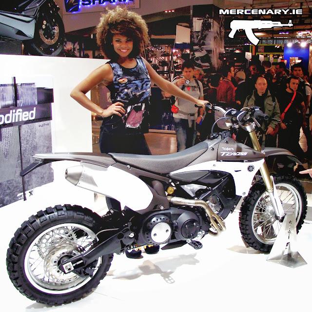 EICMA 2013 - Yamaha T-Cross Hyper Modified