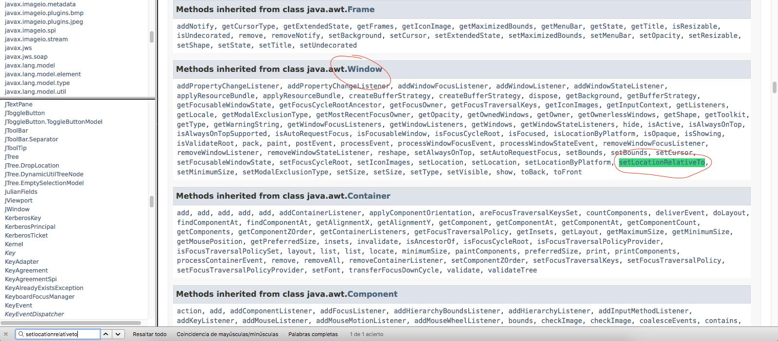 Curso Java Gratuito. Aprende a Programar en Java: Colocar un Marco ...