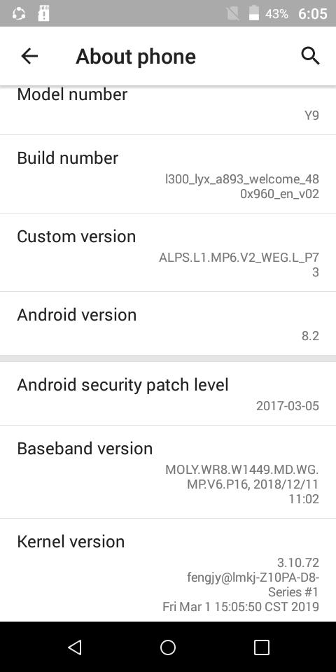 Huawei Clone Y9 Stock Firmware Rom (Flash File)