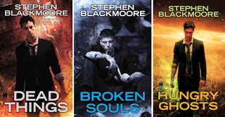 Review: Hungry Ghosts by Stephen Blackmoore - and Giveaway