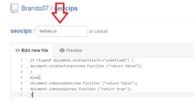masukan JavaScript