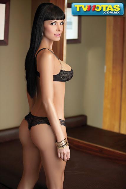 Vanessa Arias sexy lenceria de encaje tvnotas