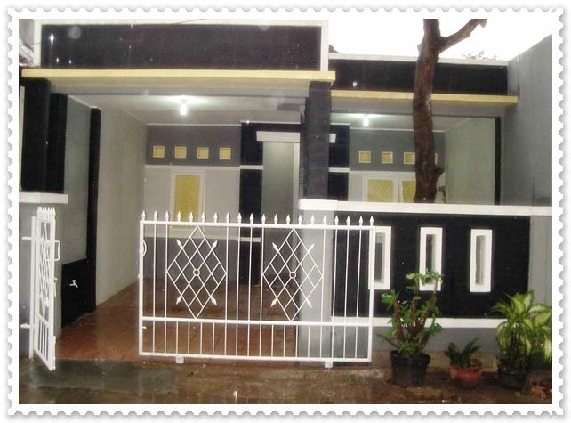 gambar model pagar rumah minimalis type 36