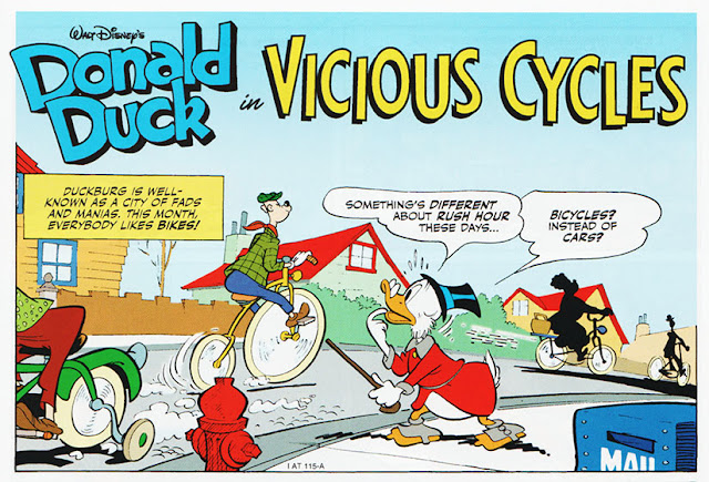 Donald Duck in Vicious Cycles
