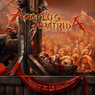 "Angelus Apatrida - ""Sharpen The Guillotine"" (lyric video) from the album ""Cabaret De La Guillotine"""