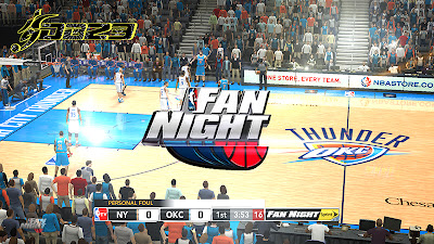 NBA 2K13 Fan Night Watermark & Overlay Mod