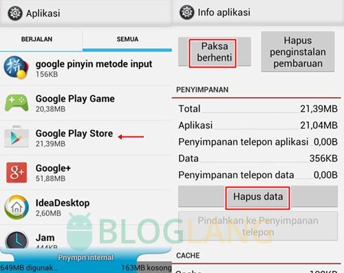 Play Store Error