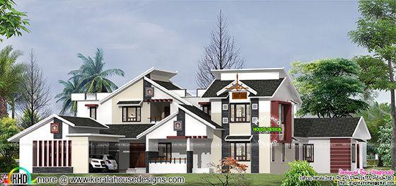 Luxury 4 bedroom modern home design