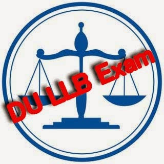 DU LLB Exam Pattern / Syllabus 2015 Delhi University