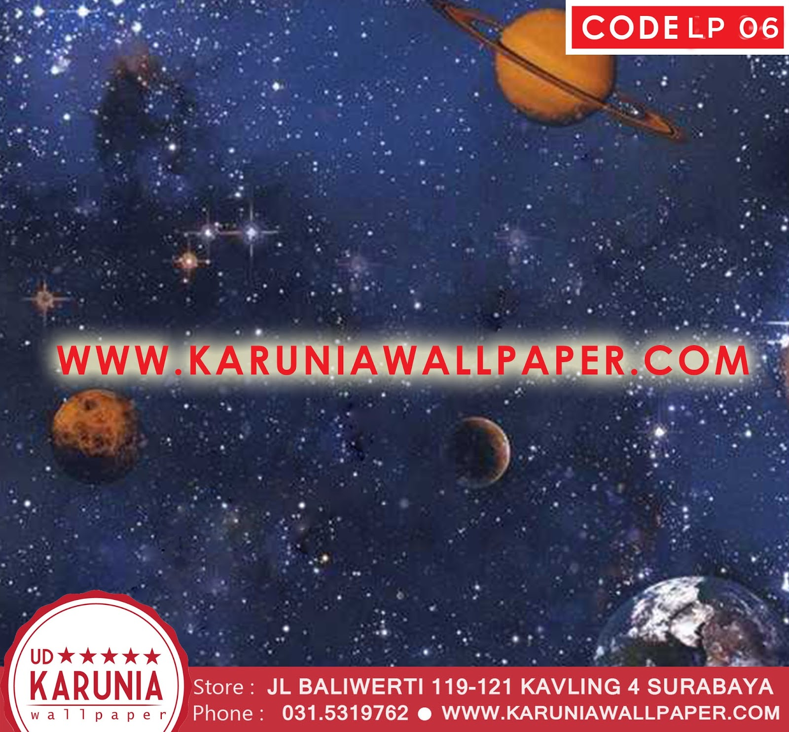 jual wallpaper angkasa galaxy