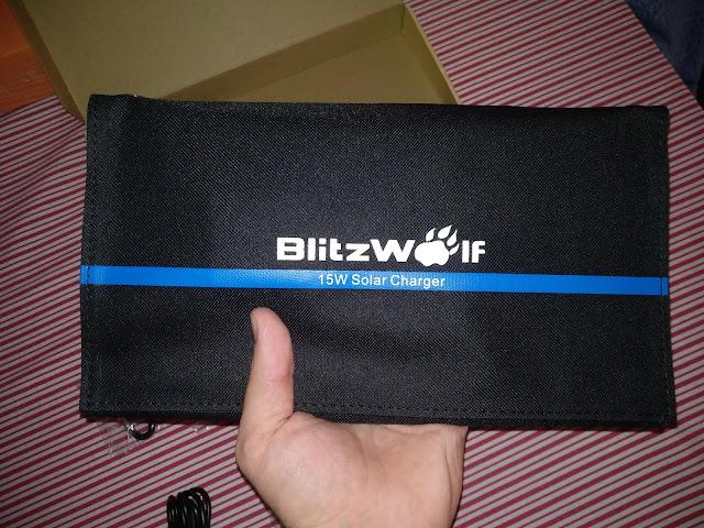 BlitzWolf BW-L2 Painel Solar de Carregamento - Review