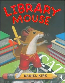 Library Mouse gets 3 out of 5 Stars in my book review.  It's wordy, but it is a great book for a writing lesson in fourth grade (or 2nd to 5th grade) at the beginning of the year or the end of the year.  Alohamora Open a Book http://alohamoraopenabook.blogspot.com/