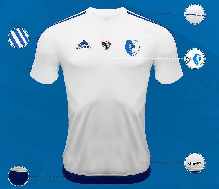 Fluminense lança camisa de filial do clube na Eslováquia - Show de ... 05558c08415d1