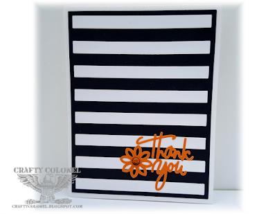 CraftyColonel Donna Nuce for Cards in Envy challenge blog, Die-namics and Cricut dies