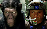"Andy Serkis gives an amazing performance as Ceasar in ""Rise of the Planet of the Apes"""
