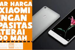 Daftar Harga HP Xiaomi dengan Baterai 5000 mAh Terbaru