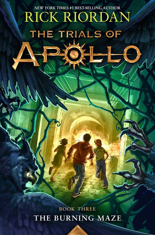 Coverreveal The Trials Of Apollo The Burning Maze By