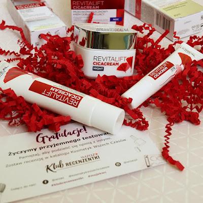 L'Oréal Paris Revitalift Cica Cream - przeciwzmarszczkowa seria odbudowująca w akcji