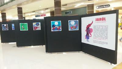 Exposición Individual de Jarul en Sambil