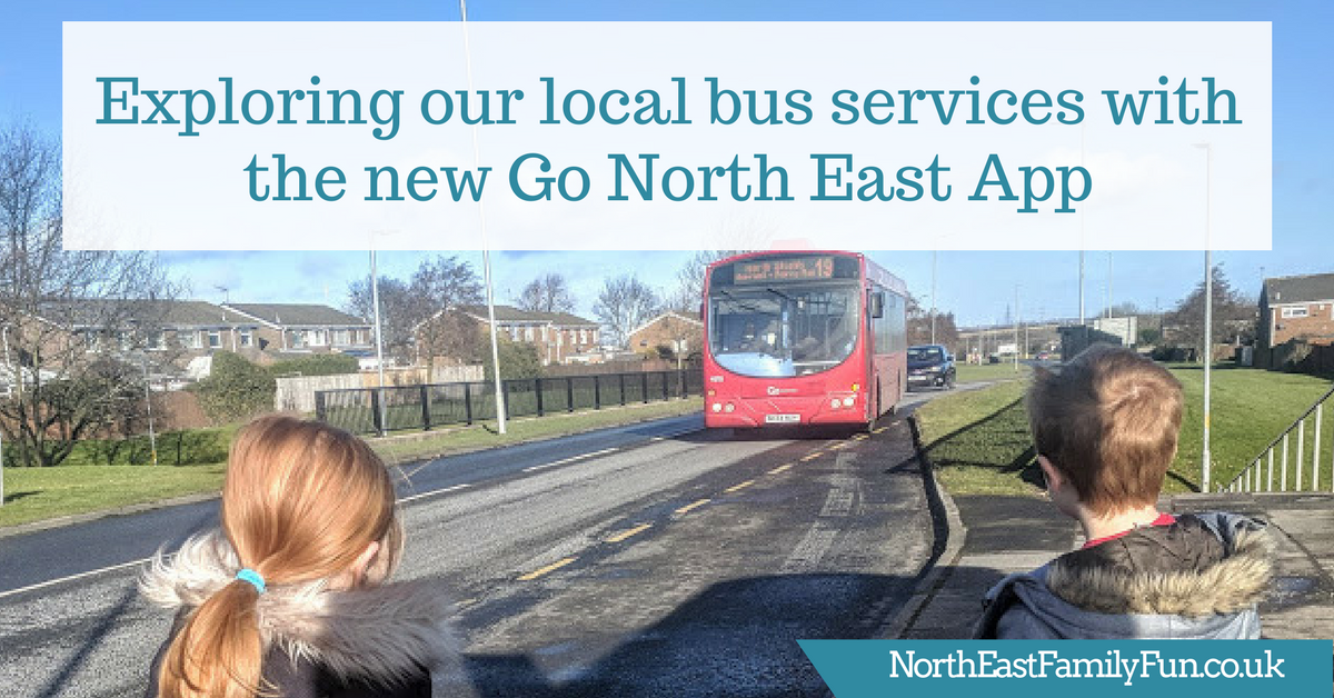 Exploring our local bus services with the new Go North East App | Our 19 bus route adventure