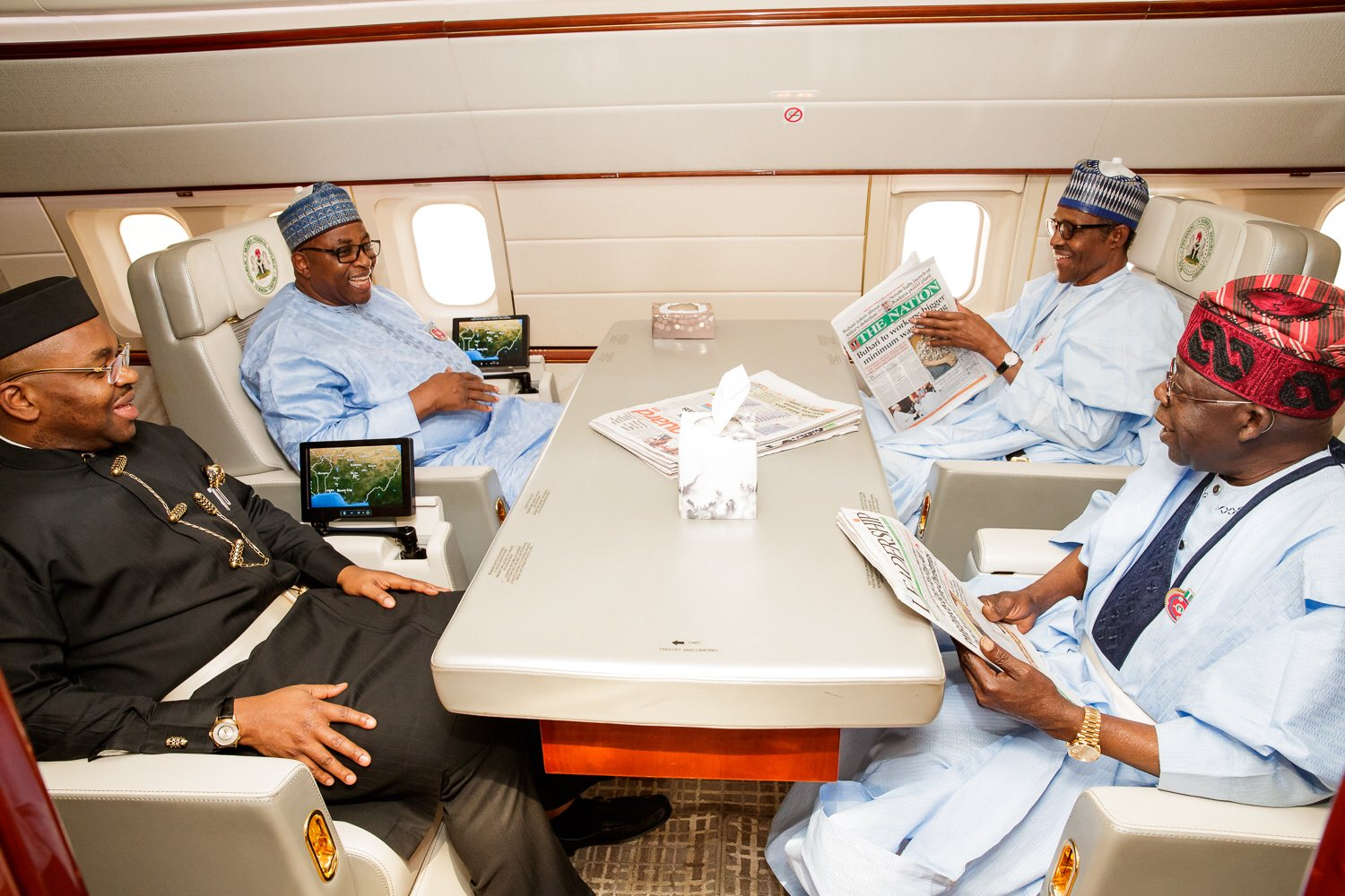 NAIJA NEWS: my reason for traveling to Cote d'Ivoire with governors - Buhari