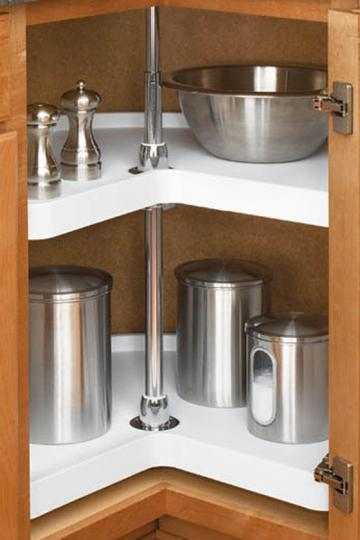 Rev A Shelf Double  Qt Pull Out Trash Can Home Depot