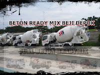 HARGA BETON READYMIX BEJI | BETON COR DEPOK