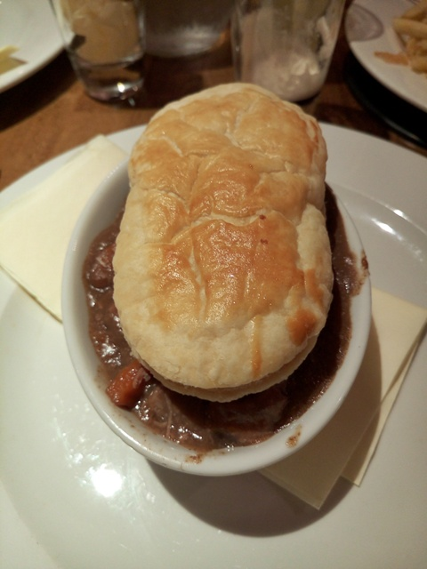 Guinness Pie en The Smugglers Inn