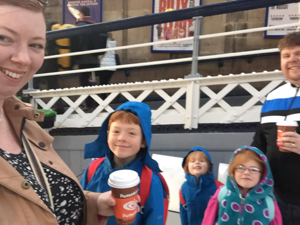 A family day trip to London with Virgin Trains East Coast - Newcastle Central Station
