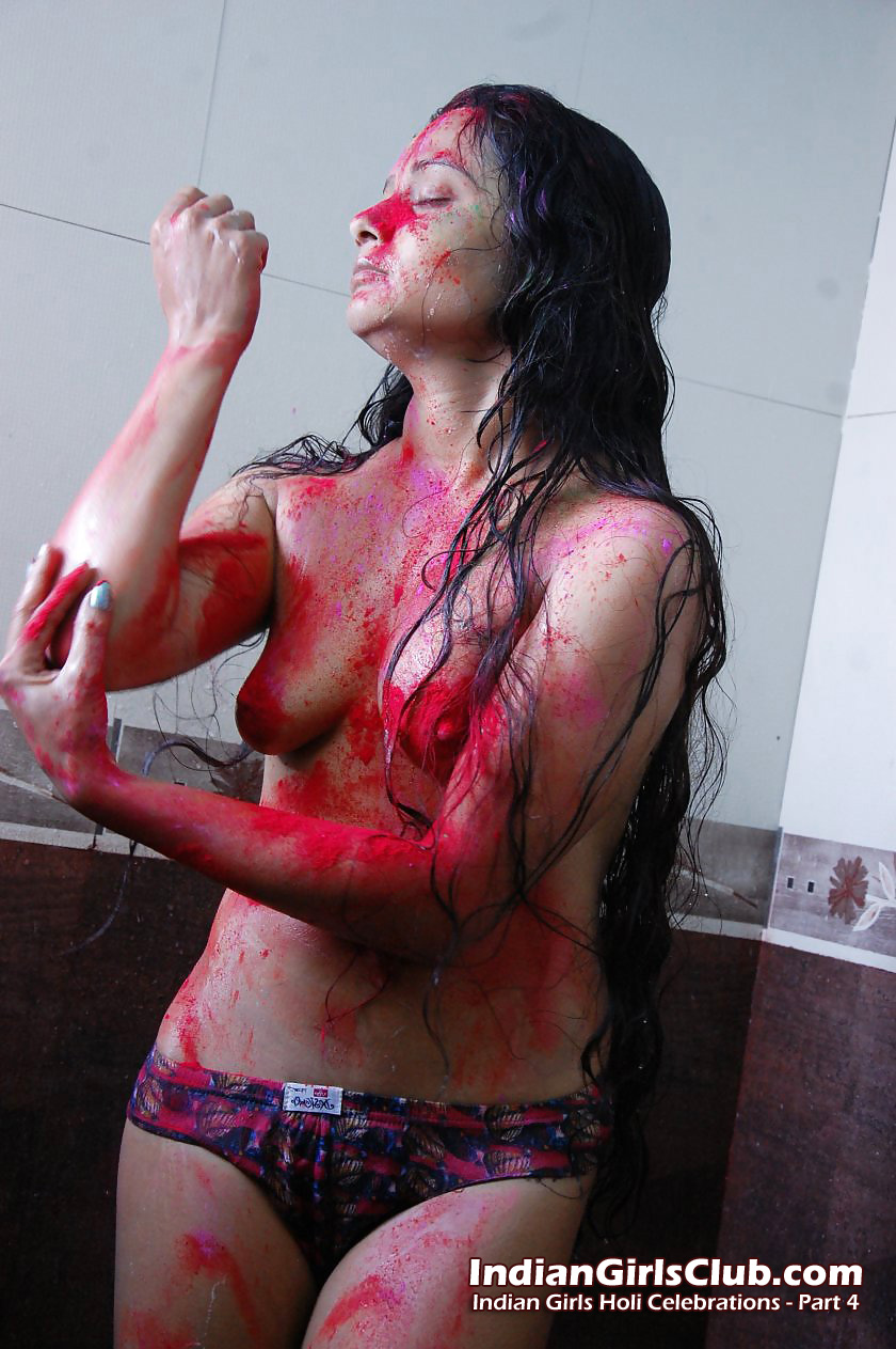 hot pics in holi