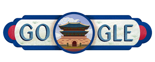 South Korea National Day 2016 - Google Doodle