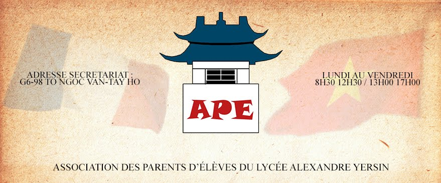 Association des Parents d'Elèves Lycëe Alexandre Yersin