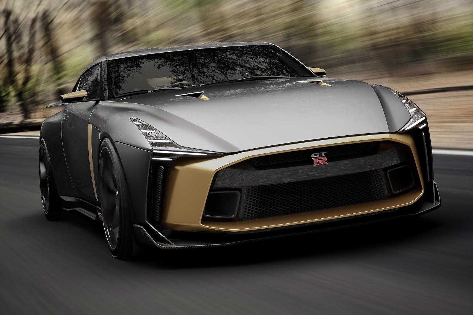 Το  Nissan GT-R50 από την Italdesign, πανέτοιμο για το παγκόσμιο ντεμπούτο του στο Goodwood